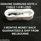 Genuine Samsung Galaxy Note 4 Data Charger Sync USB 3.0 Cable Cord 1.5 Meters