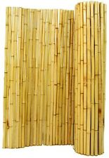Bamboo Fence Natural Rolled Garden Fencing Privacy Balcony Zen 4 Ft. H X 8 Ft. W