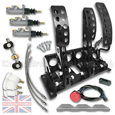 VW GOLF MK1-4 Hydraulic Floor Mounted Pedal Box + KIT B CMB0711-HYD-KIT+LINES