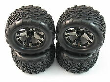 4 NEW TRAXXAS STAMPEDE 4X4 WHEELS TIRES 2.8 TALON 12MM TRA 3669A  1/10