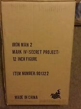 RARE 1/6 Scale Hot Toys Iron man 2 Mark IV Secret Project Figure (IN STOCK)