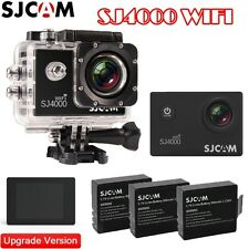 SJCAM SJ4000 Wifi1080P Digital Sports Waterproof Helmet Camera With 3 Batteries
