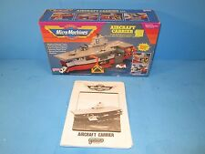 1988 Micro Machines AIRCRAFT CARRIER No. 6416 (Box & Instructions Only) Galoob
