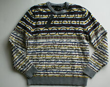 Marc By Marc Jacobs Mens Finsbury Fairisle Snowflake Merino Wool Sweater M NWT