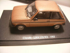 Atlas UNIVERSAL HOBBIES UH 1/43 eme CITROEN LNA 11E / RE 1983 Marron