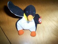 ty mini beanie WADDLE the penguin with tag
