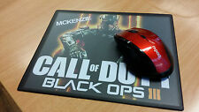 "PERSONALISED CUSTOM ""CALL OF DUTY BLACK OPS 3"" MOUSE MAT / PAD - PC/Laptop- Gift"