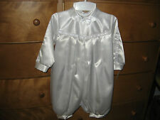 Boys White Christening Outfit 24 Months
