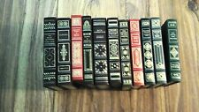 Lot of 11 books: The Franklin Library Books, 11 vintage books, good condition!
