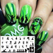 Scetch Pattern Nail Art Stamp Stencil Template Image Plate BORN PRETTY BP-L021