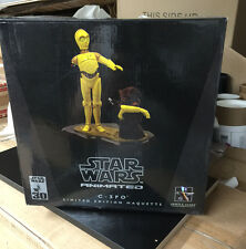 STAR WARS C-3PO & JAWA ANIMATED MAQUETTE #56/4500 GENTLE GIANT LIMITED EDITION