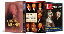 John Adams Collection DVD Set  History Channel Founding Fathers Documentary