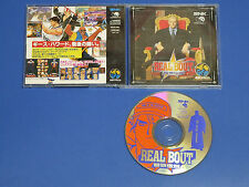 SNK Neo Geo CD REAL BOUT FATAL FURY Import Japan