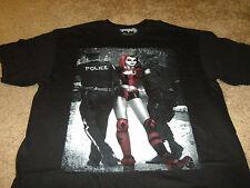 Batman Harley Quinn Mens Super Hero DC Comics Joker Black T-Shirt Size XL