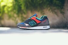 NEW BALANCE 577 'The Napes' - UK 11.5, US 12 - Made in England M577NGO grey red