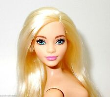 2016 Barbie NUDE Evolution Fashionistas CURVY Chambray Chic Doll Blonde For OOAK