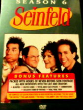 SEINFELD The COMPLETE SIXTH SEASON 24 Episodes + 13 Hours of Special Features