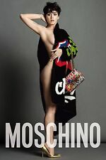 MOSCHINO KATY PERRY Luxury Brand Ad Poster Ad Campaign 36 inch by 24 inch A