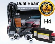55W H4 9003 HB2 5K Pure White Bi-Xenon Dual Beam HID Headlight Conversion Kit M