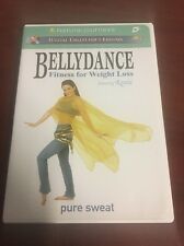 Bellydance Fitness for Weight Loss - Pure Sweat (DVD, 2003) Rania - Near Mint~~