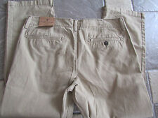 NEW AMERICAN EAGLE ORIGINAL STRAIGHT KHAKIS  JEANS PANTS MENS 34X30  FREE SHIP