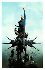 "JAE LEE - SUPERMAN & BATMAN SIGNATURE EDITION ART PRINT 11""x17"""