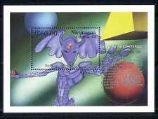 Nicaragua 1994 Aliens Sightings/Space/Sci-fi m/s n27392