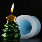 Christmas Tree Silicone Candle Soap Molds Cutter DIY Making Tools Chocolate