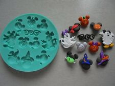 Silicone Mould HALLOWEEN MICKEY MOUSE Sugarcraft Cake Decorating Fondant / fimo