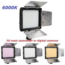 New W180 Video LED Lights 6000K for Canon Nikon Olympus Digital Camera Camcorder