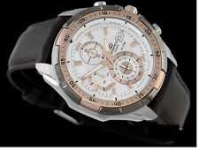 Casio Edifice Imported EFR-539L 7av Brown Leather strap Men's watch