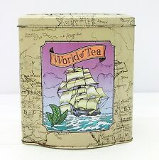 Vintage Ringtons World of Tea Storage Tin