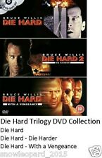 Die Hard Trilogy 1-3 DVD Boxset Complete Collection Movie Film Brand New UK R2