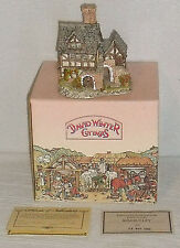 David Winter Cottages THE BAKEHOUSE 1983 In Box With Paperwork COA