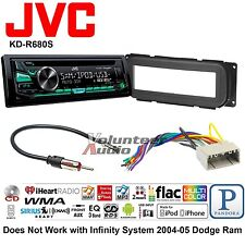 JVC Car Radio Stereo CD Player Dash Install Mounting Kit Harness USB AUX MP3