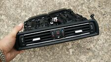 BMW F10 10-16 528i 535i 550i M5 fresh air vent center dashboard grille hazard sw