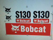 BOBCAT S130 Adesivi / Decalcomanie
