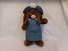 """Build A Bear Bunny Rabbit Sings Frozen """"In Summer"""" song Sound with Outfit 16"""""""
