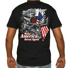 Biker Life USA Trump's Bitch Fell Off T-Shirt - The Original!