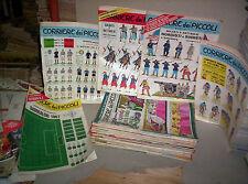 CORRIERE DEI PICCOLI ANNO 1967 SERIE COMPLETA 1/53+GADGETS+CALCIATORI+SOLDATINI
