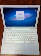 "APPLE MACBOOK 13"" INTEL C2D 2.0GHZ 160GB 2GB DVD/CDRW WIFI 10.7 A1181"
