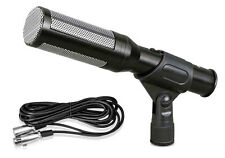 New PDMIC35 Electret Condenser Shotgun Microphone with 16 ft. XLR to 1/4'' Cable