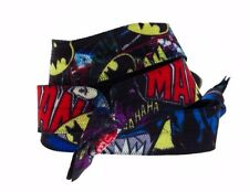 DC Comics BATMAN Patterns Set of 3 Pony Tail HAIR TIES