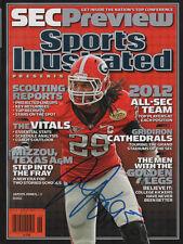 Jarvis Jones Georgia Football SIGNED SEC Special Sports Illustrated NL COA!
