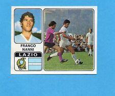 FIGURINA PANINI 1972/73-n.187- NANNI - LAZIO -Recuperata