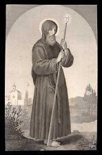 santino incisione 1800 S.FRANCESCO DI PAOLA