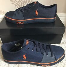 BNIB MENS POLO RALPH LAUREN CROFTON-NE SHOES/TRAINERS/SNEAKERS SIZE 7 IN NAVY