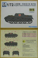 Pz.Kpfw.I Ausf.A Ambulance Version , 1/72, S-Model ,Doppelpack, Plastk, NEU,
