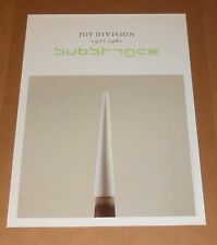 Joy Division Substance Poster 1988 Original 23x16 RARE