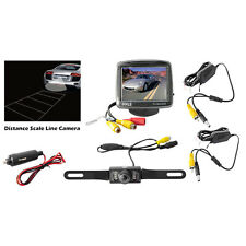 PLCM34WIR 3.5'' Monitor Wireless Back-Up Rearview & Night Vision Camera System